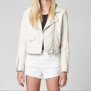 NWT Blank NYC Faux Leather Bomber-Style Jacket